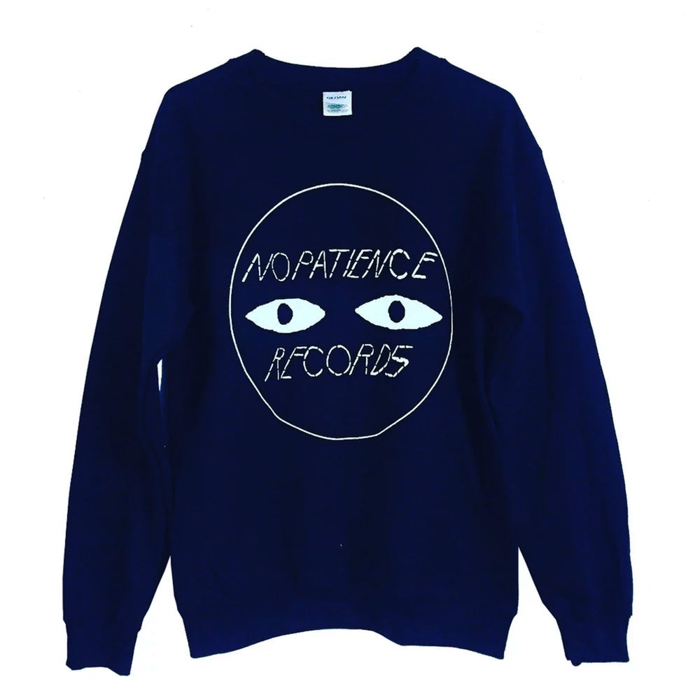 Image of NOPATIENCE RECORDS CREW NECK SWEATER