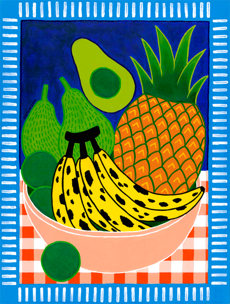 Image of Still Life w/ Fruit Giclee Print