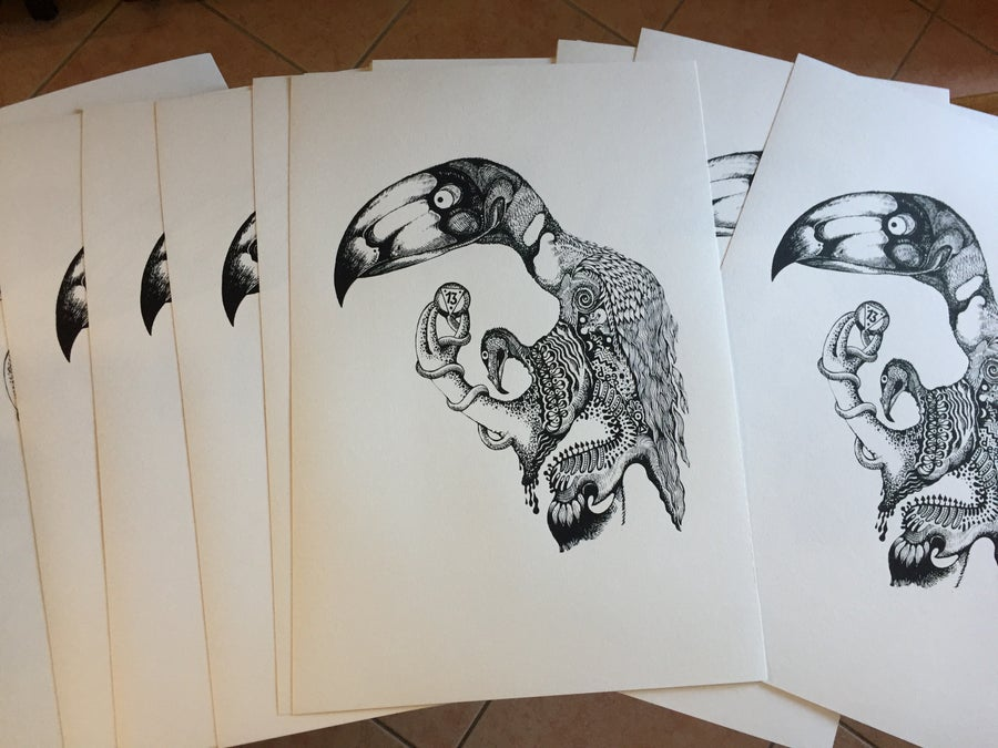Image of Bird of Good Luck - Serigrafia / Silkscreen