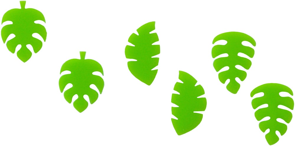 Image of Tropical Plant Stud Set