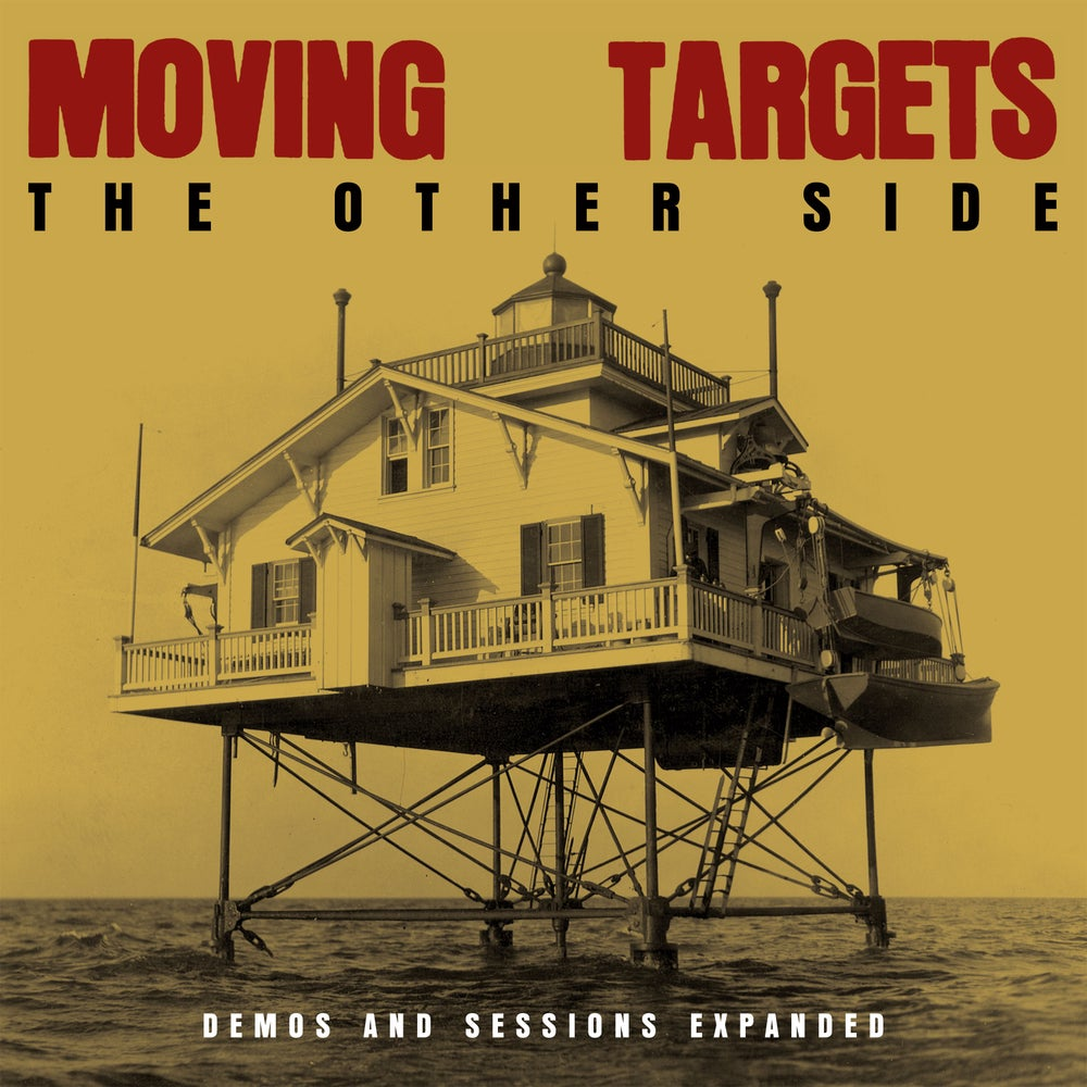 Image of MOVING TARGETS - THE OTHER SIDE : DEMOS AND SESSIONS EXPANDED Double LP with T Shirt Offer!