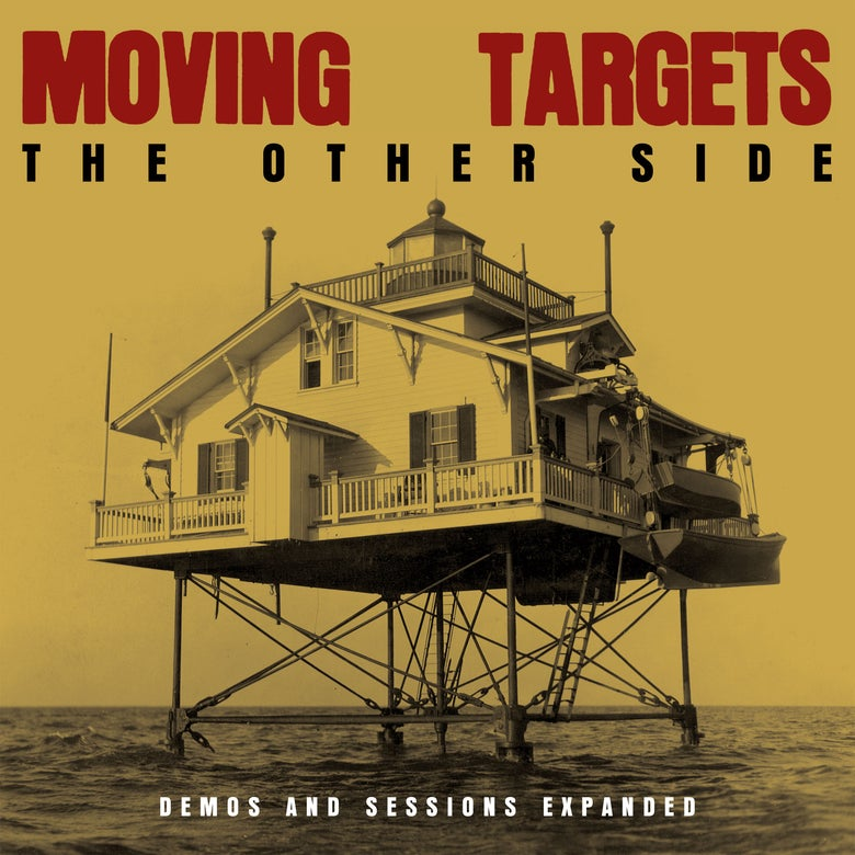 Image of MOVING TARGETS - THE OTHER SIDE: DEMOS AND SESSIONS EXPANDED CD AND T SHIRT COMBINED OFFER!