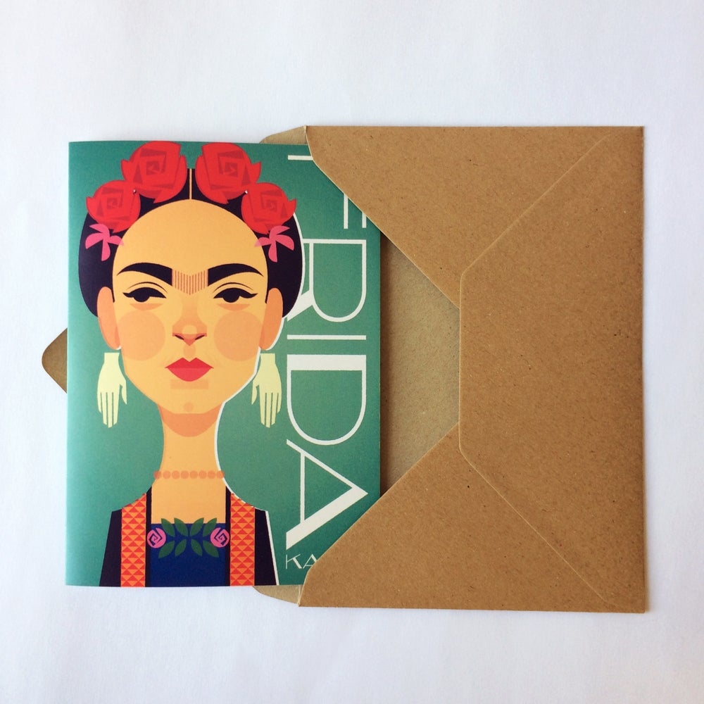 Image of Frida Kahlo card