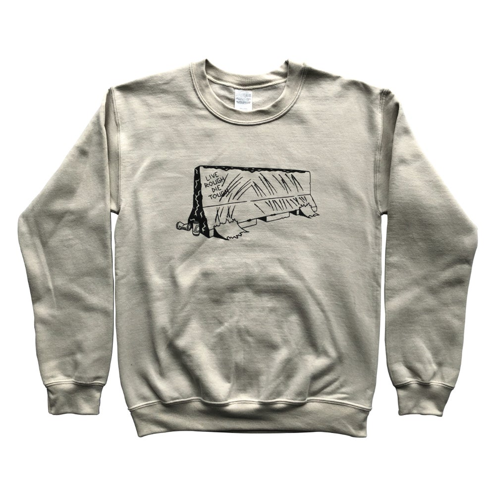 "Image of Sand ""BARRIER"" Crewneck"