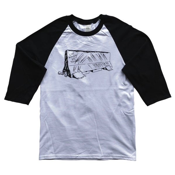 "Image of 3/4 Sleeve ""BARRIER"" Raglan"