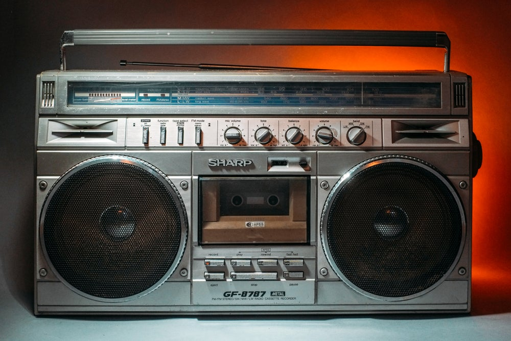 Image of SHARP GF-8989 BOOMBOX BLUETOOTH (1980)