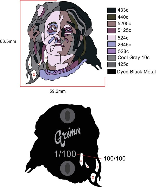 Image of The Dire Mother Pin presale