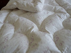 "Image of Gorgeous Single Eiderdown In Cabbages & Roses ""New Penny"""