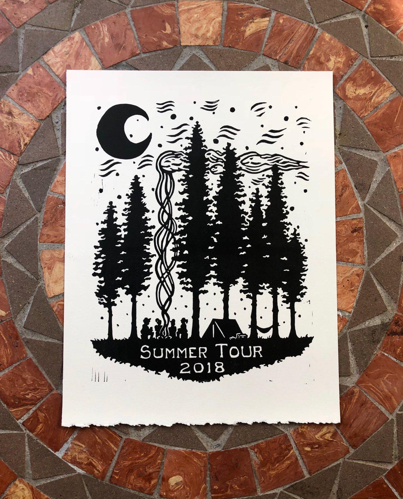 Image of Phish Summer Tour print