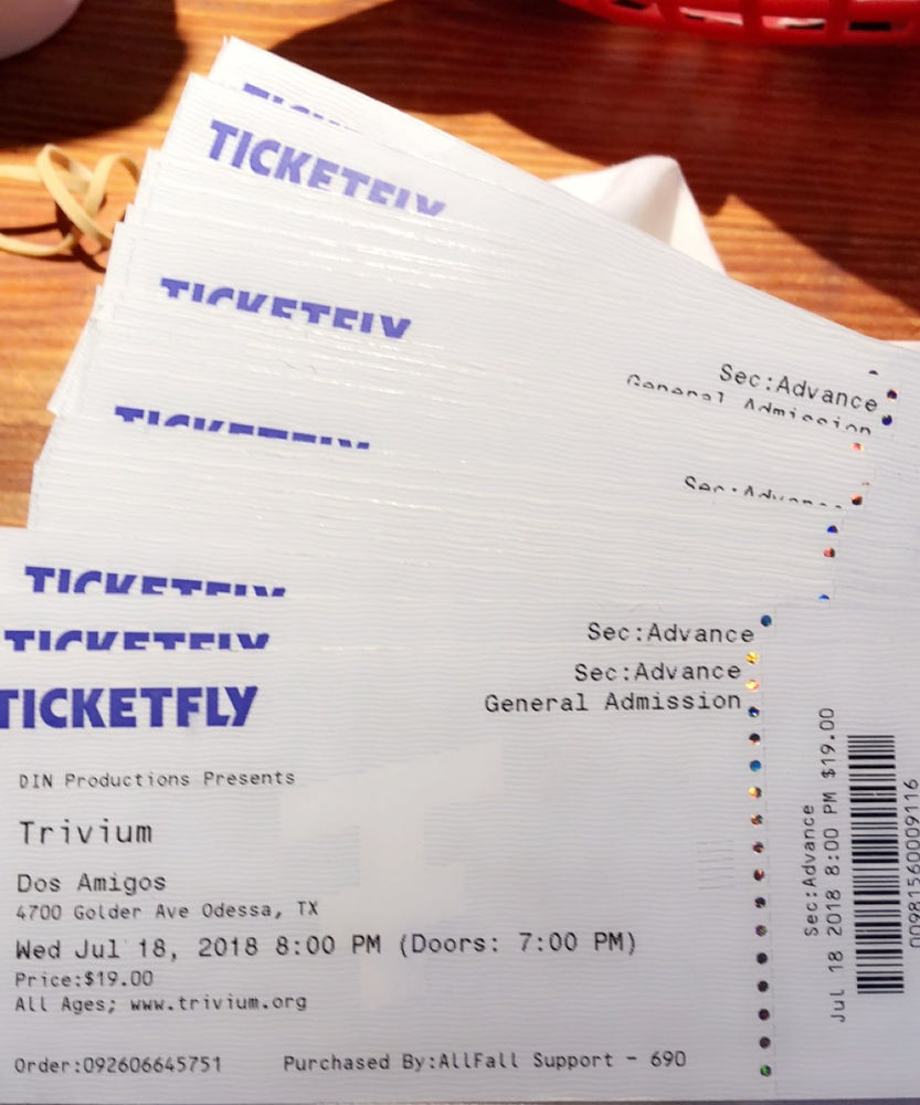 Image of Trivium Ticket