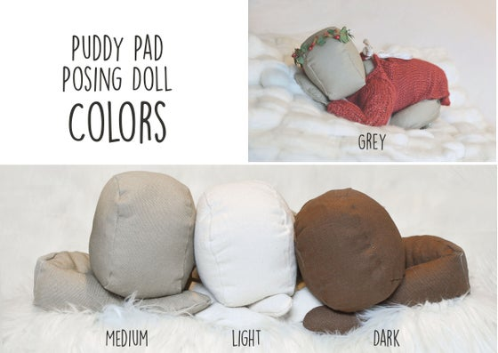 Image of Puddy Pad Posing Doll-- MADE TO ORDER