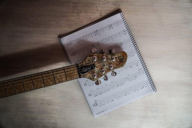 Image of 'Ladder Head' Guitar Tab Book [digital]