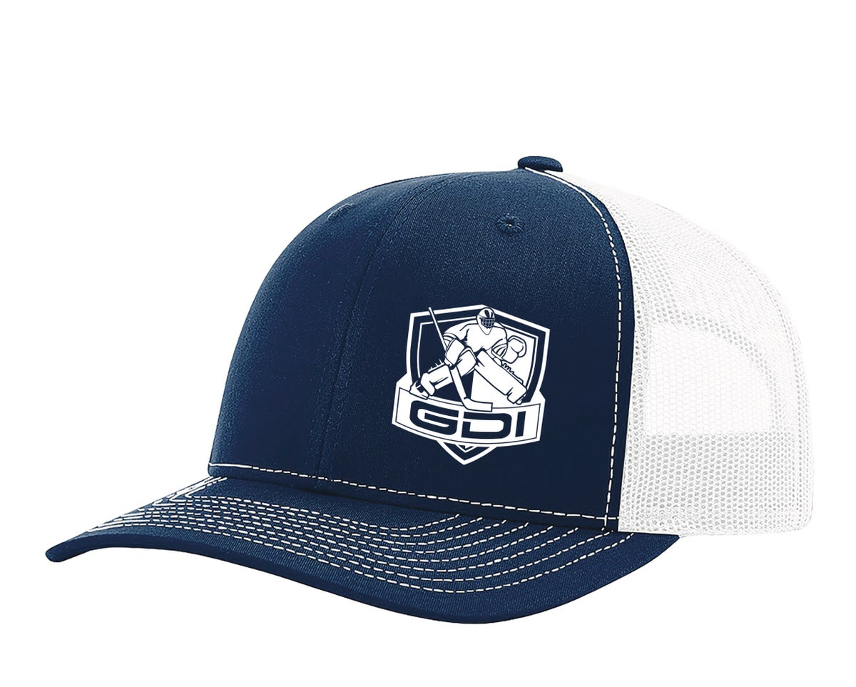 Image of NEW GDI Trucker Hat (Navy/White)