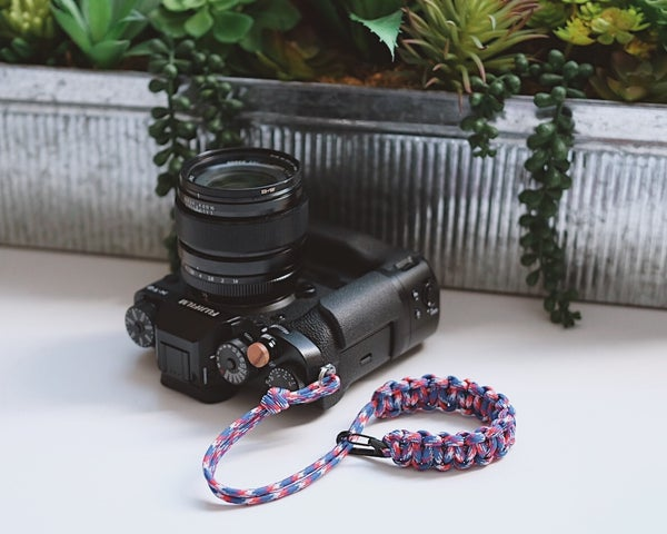 Image of Single strap w/ black clip slider
