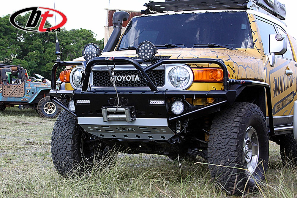 Image of BT4x4 FJ Cruiser Rally front bumper