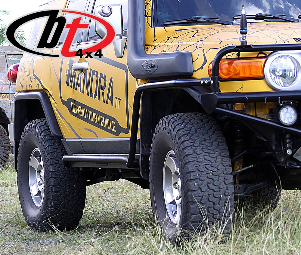 Image of BT4X4 FJ Cruiser rock sliders