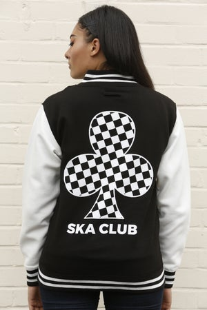 Image of SKA CLUB VARSITY JACKET (UNISEX)