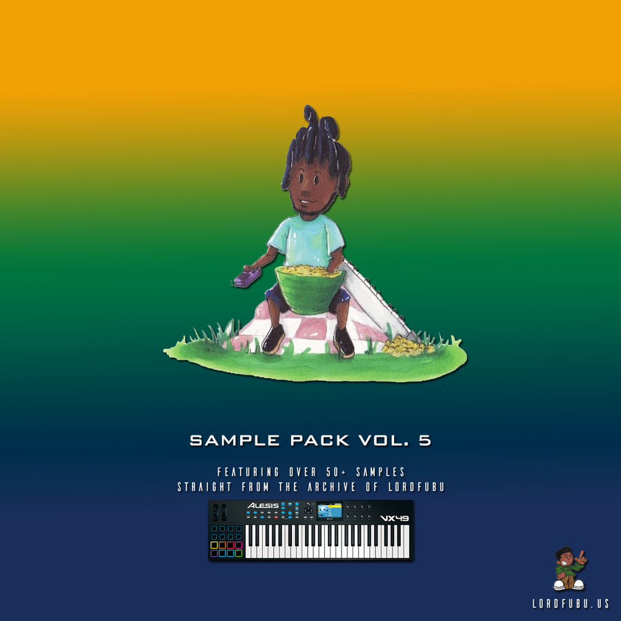 Image of LORDFUBU SAMPLE PACK: VOL. 5