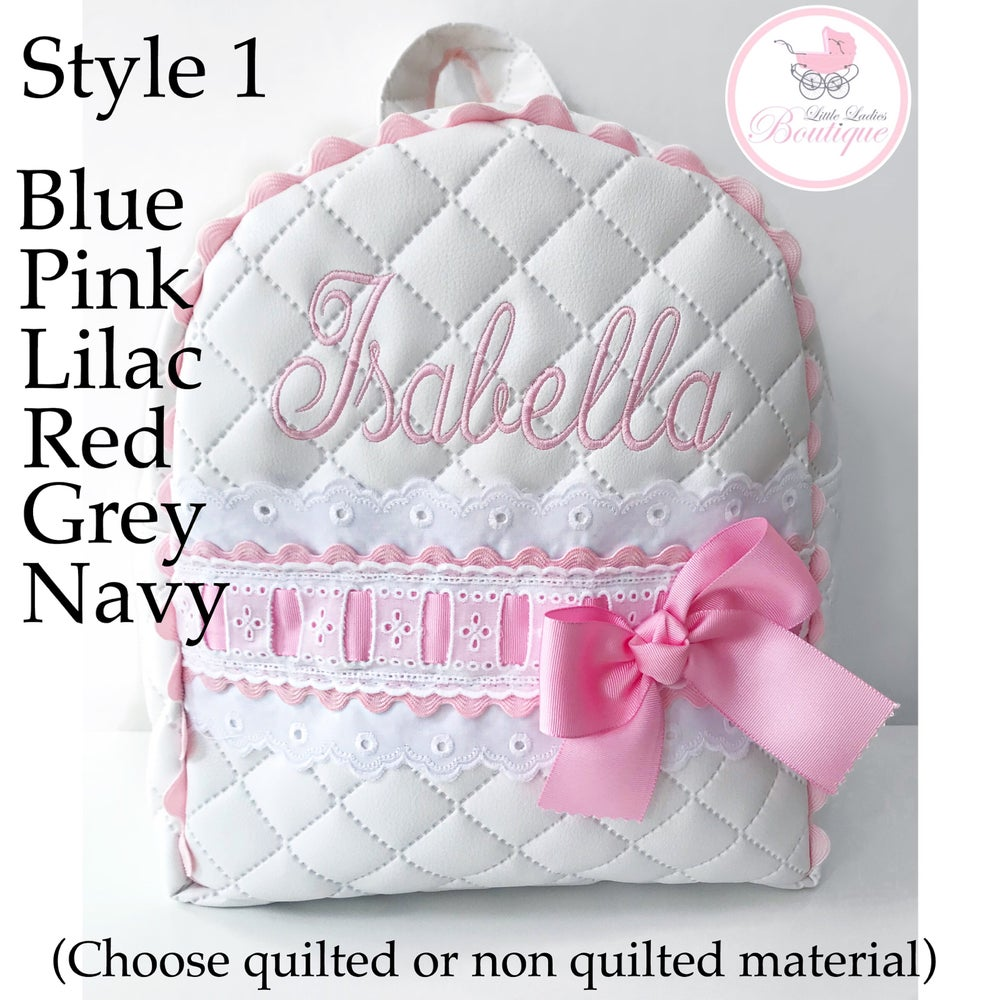 Image of Traditional Personalized bags