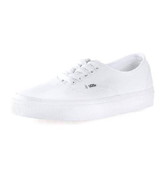Image of Vans Authentic Unisex Skate Trainers Shoes