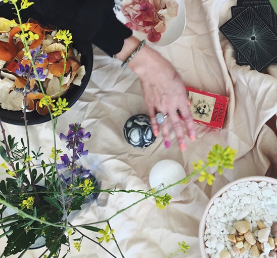 Image of August Tarot reading with Sarah Faith in London