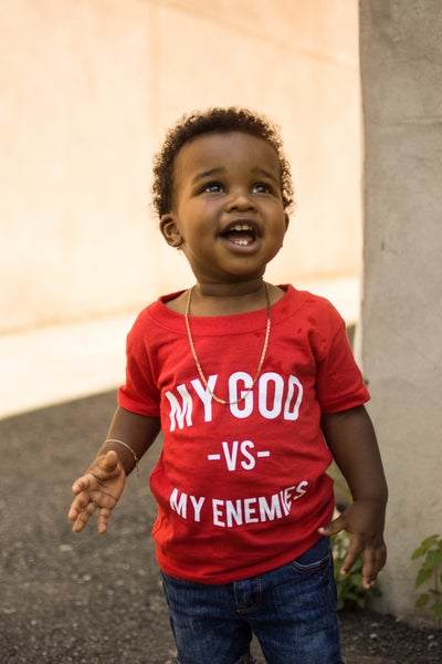 Image of Fire Red Toddler Tee