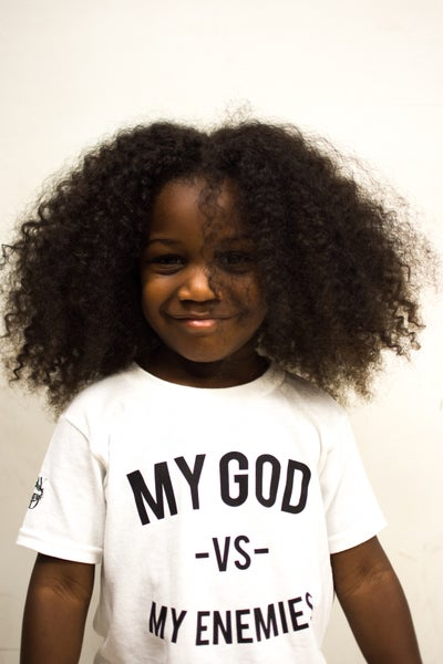 Image of White MGVME Toddler Tee