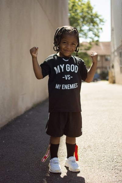 Image of Midnight Black MGVME Toddler Tee