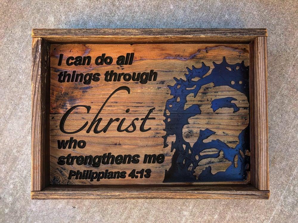 Image of Philippians 4:13 Dump Tray