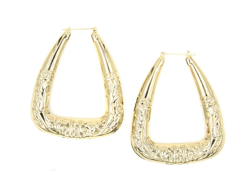Image of Triangle Jumbo Hoops