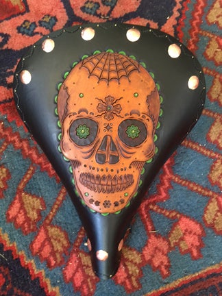 Image of Mexican Candy Skull Motif