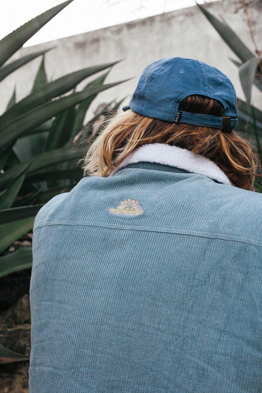 Image of Jacket - Chalk Blue Cord & Sherpa