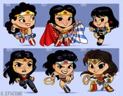 Image of Evolution of Wonder Woman