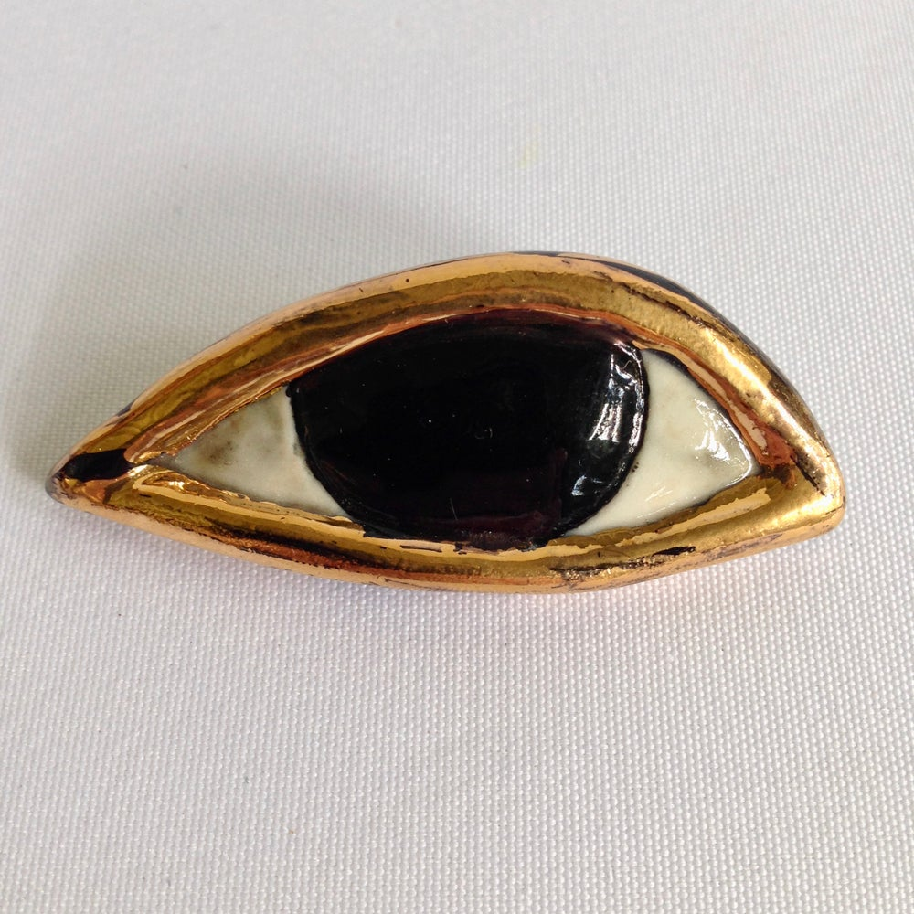 Image of Egyptian Eye Brooch