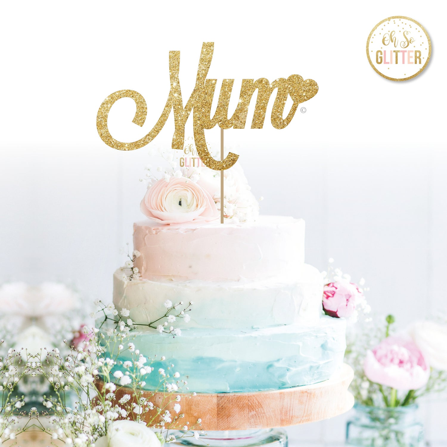 Image of Mum (Dad, etc also available) Cake Topper