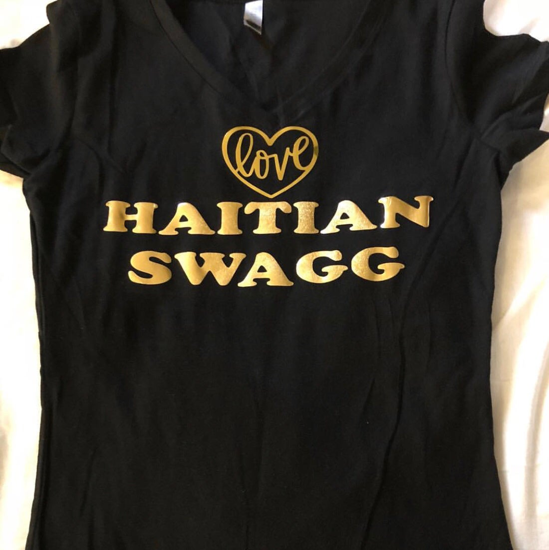 Image of Gold love V-Neck