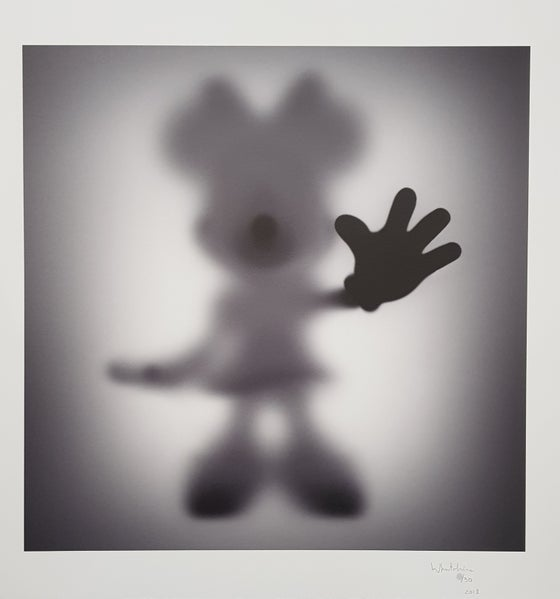 Image of GONE MINNIE - LIMITED EDITION OF JUST 30 - 60CM X 60CM