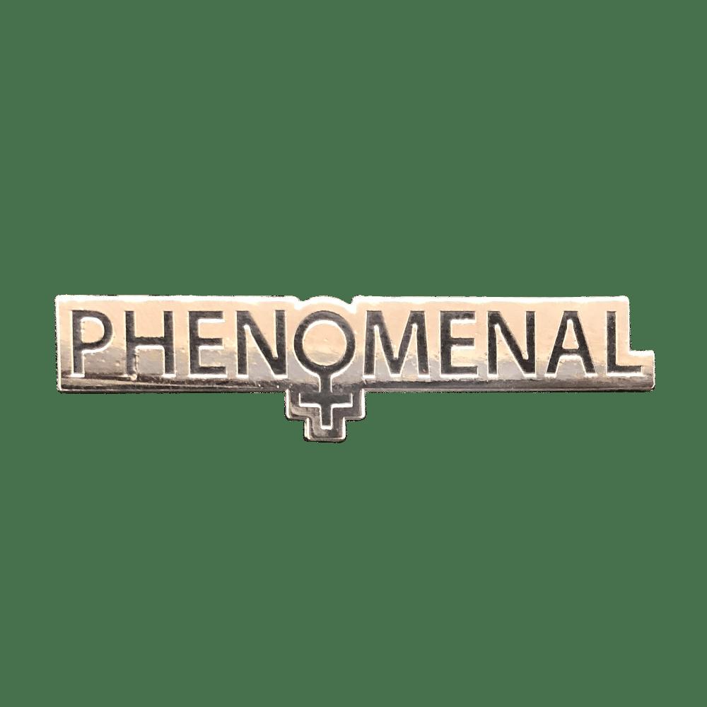 Image of Phenomenal Woman Pin (Silver)