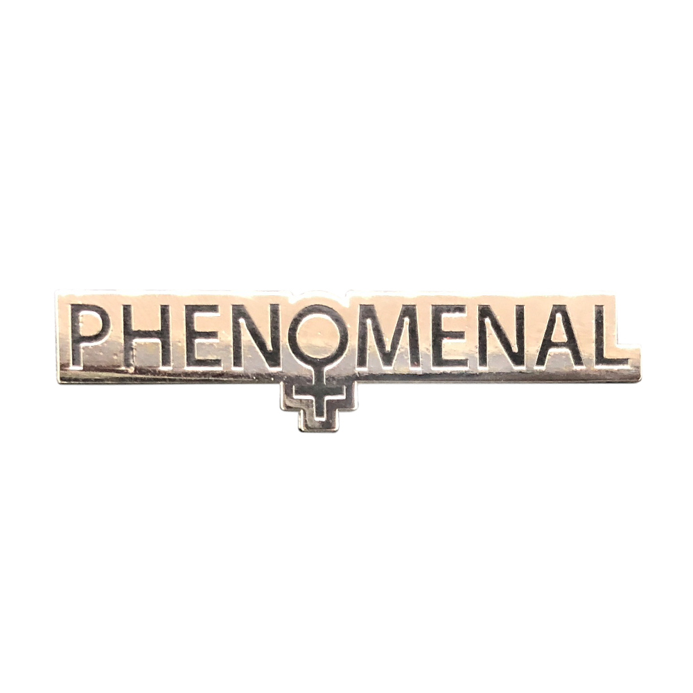 Image of Phenomenal Woman Pin (Silver)