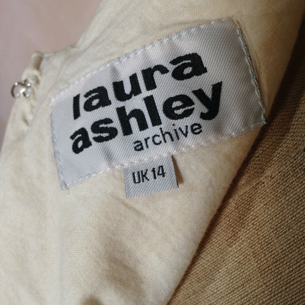 Image of LAURA ASHLEY ARCHIVE / HALTER NECK DRESS