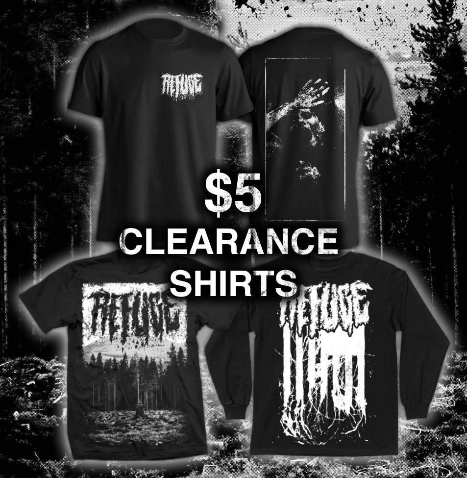 Image of $5 CLEARANCE SHIRTS