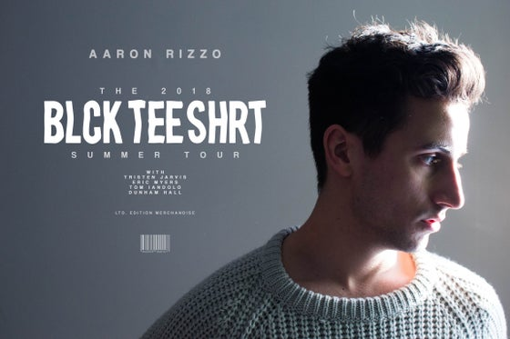 Image of Blck Tee Shrt Summer Tour - Signed Poster