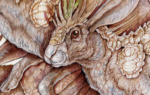 Image of Mercenary Hares print
