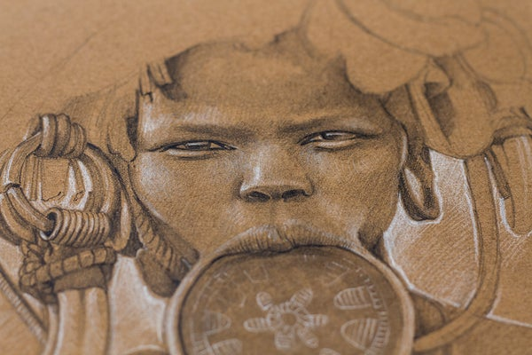 Image of African Tribes Sketchbook