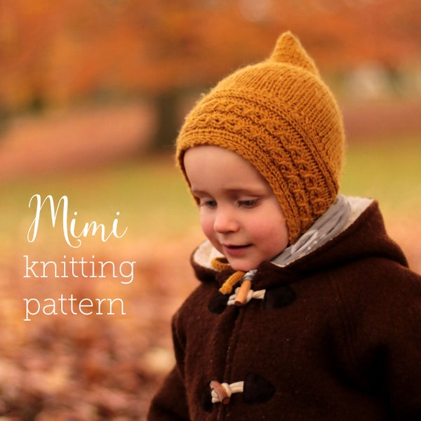 Image of knitting pattern Mimi Pixiehat