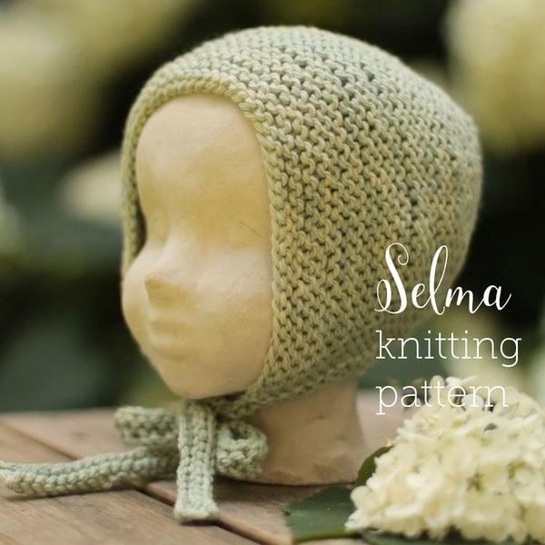 Image of Knitting pattern Selmabonnet english