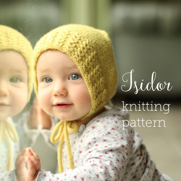 Image of Knitting Pattern Isidorbonnet