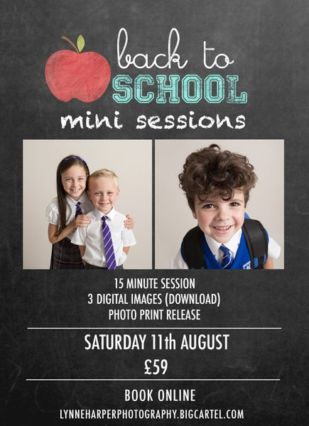 Image of Back to School/Nursery Mini Sessions 2018