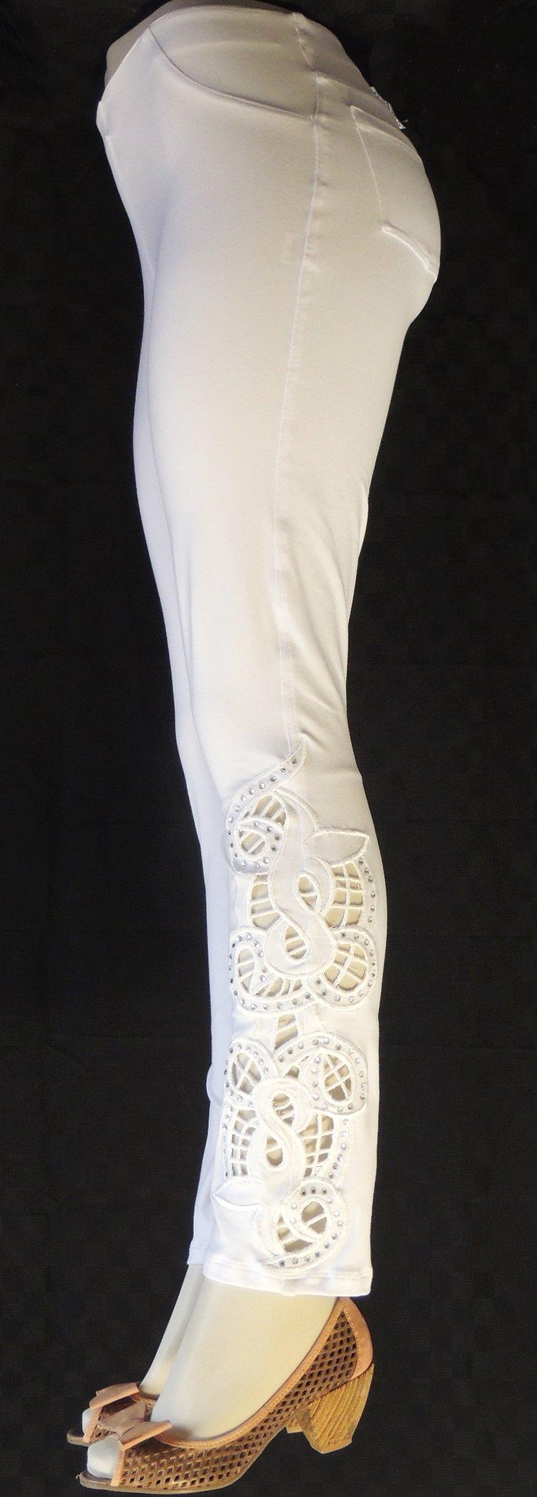White Richelieu FW6072