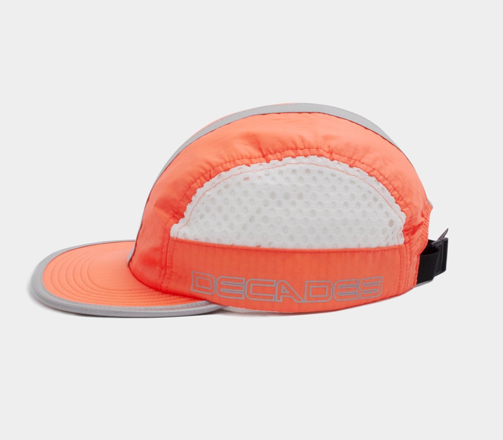 Image of Third Rail 4 Panel Cap Neon Orange